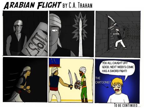 Arabian Flight Quick Recap