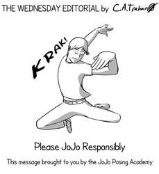 Editorial: Joestar Syndrome PSA