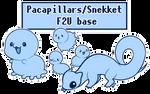 Pacapillars/Snekket F2U base by JustXanh