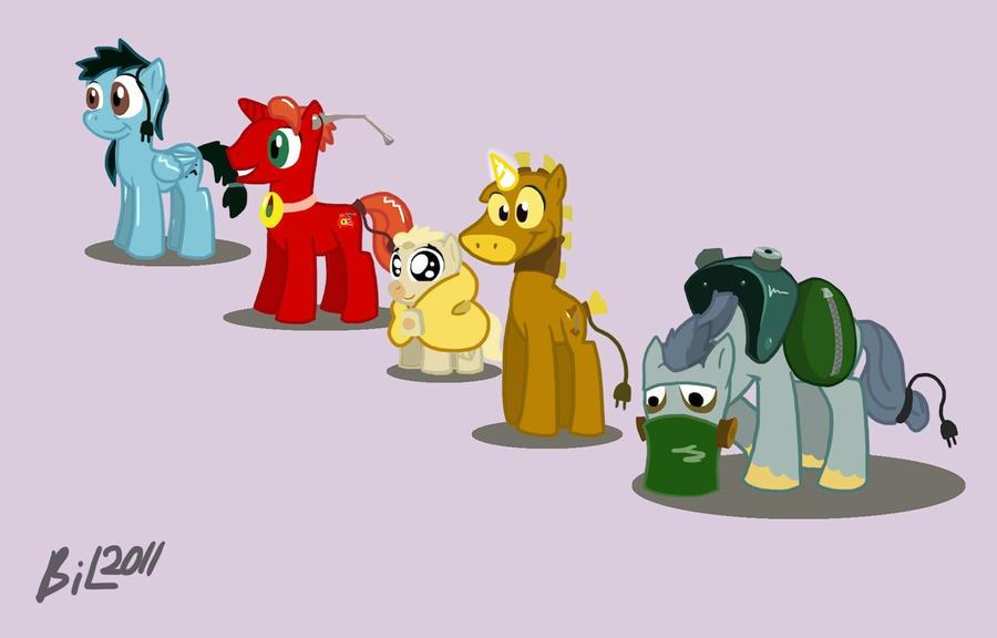 My Brave Little Pony By Glitchbreaker On Deviantart