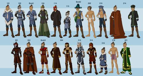 Sokka's Wardrobe by DressUp-Avatar