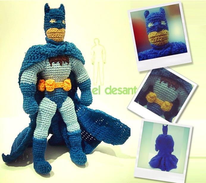 Batman Amigurumi Free Pattern | Crochet batman, Crochet amigurumi ... | 614x693