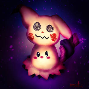 *A wild Mimikyu appeared!
