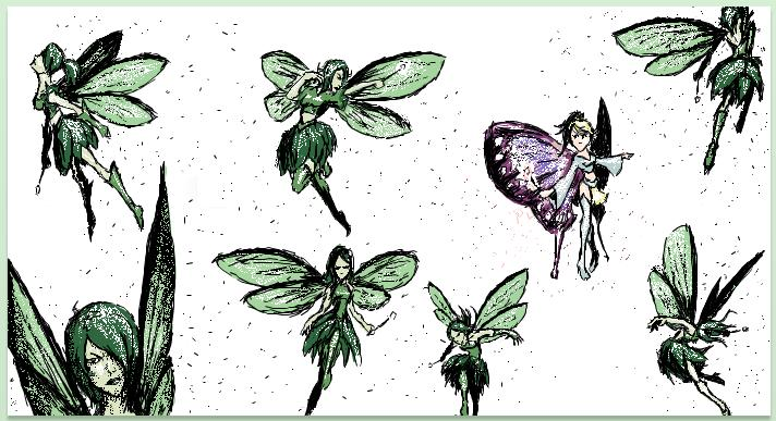 Image Result For Difference Between Fairies And Pixies