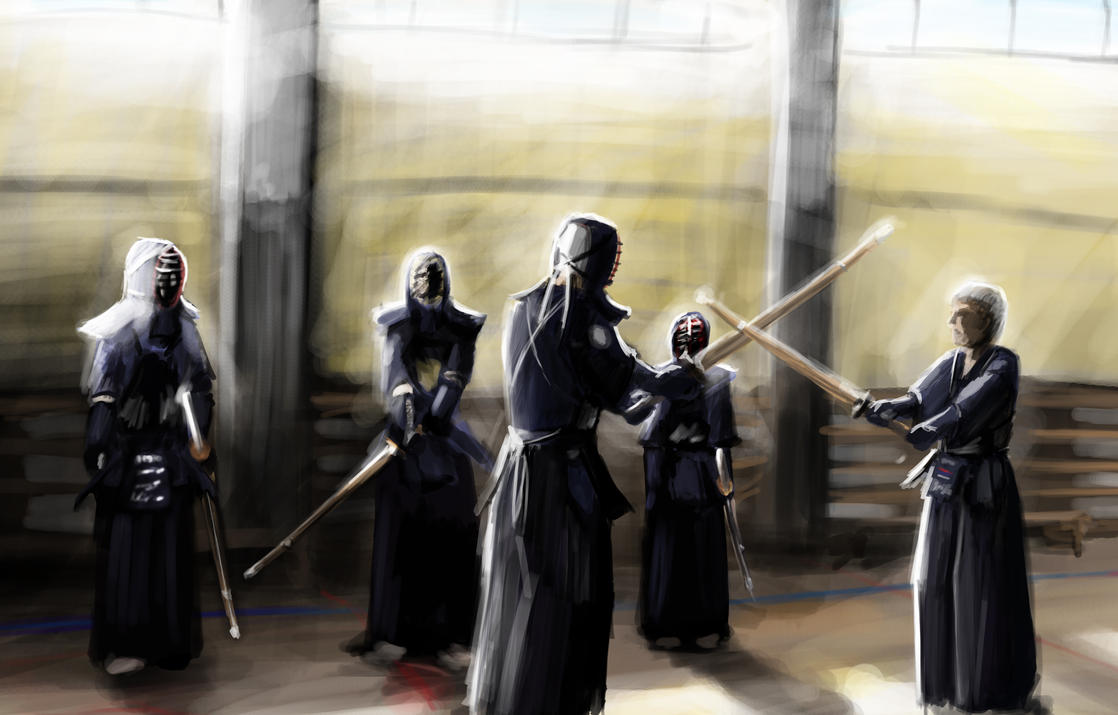Kendo class by ...