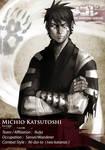 SDL profile: Michio Katsutoshi by Daandric