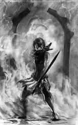 One sword will do by Daandric
