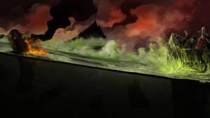 War for Armageddon - Orc sneak attack!