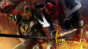 Siege of Vrax 03 - Arkos vs Azrael