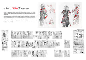 Character Design - Astrid ''Triddy'' Thomason by Daandric