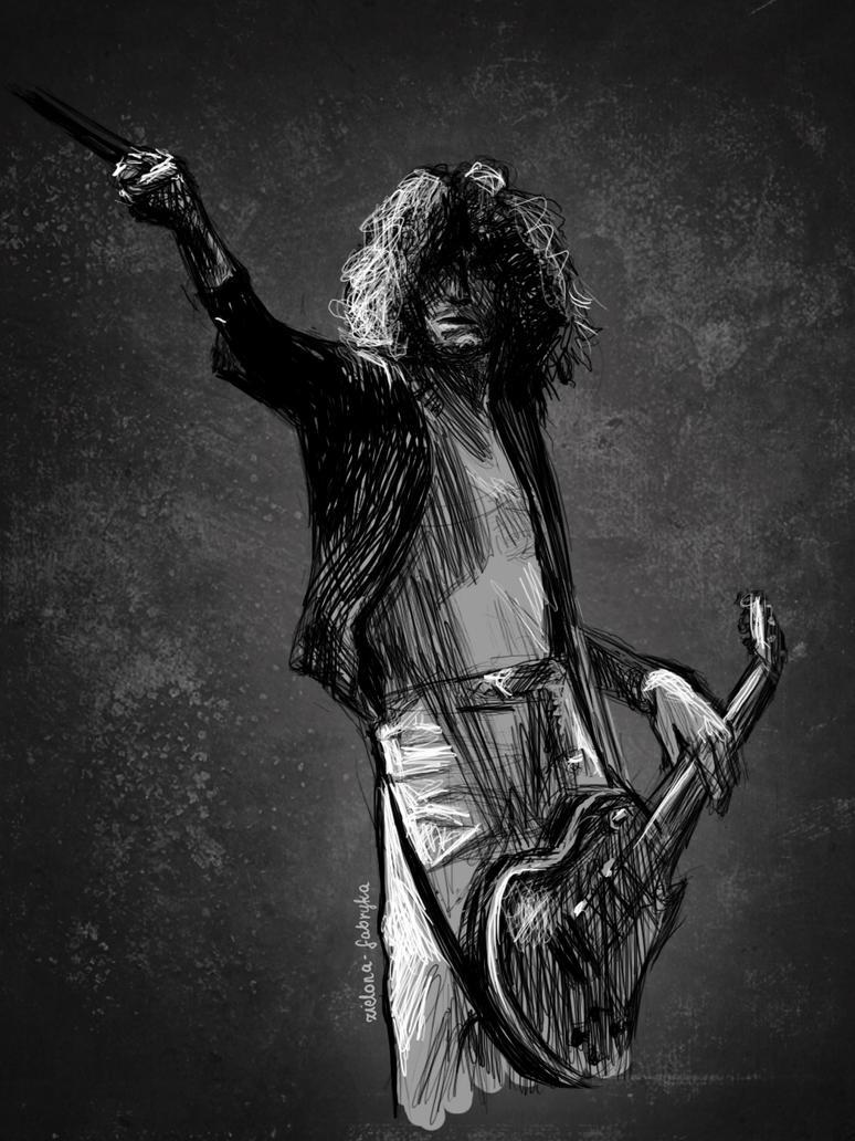 Jimmy Page By Zielona Fabryka