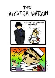 The Hipster Watson by zielona-fabryka