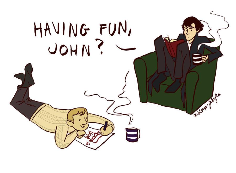 Teatime at 221b Baker Street