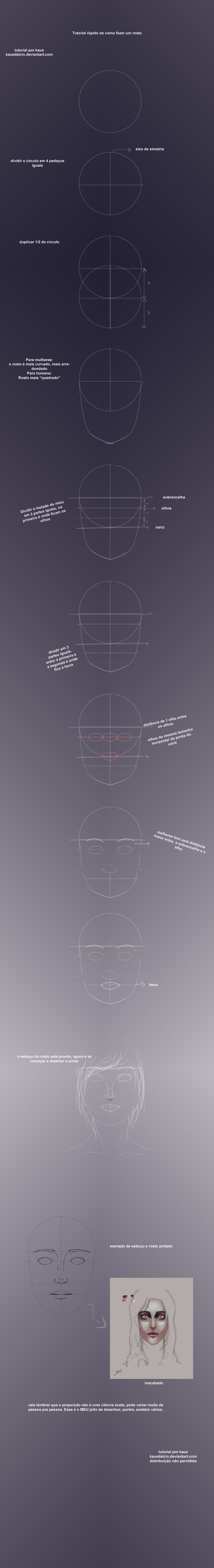 Tutorial rosto by KaueDalcin