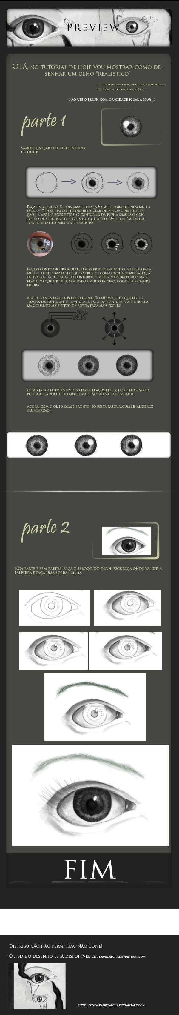 Tutorial olho by KaueDalcin