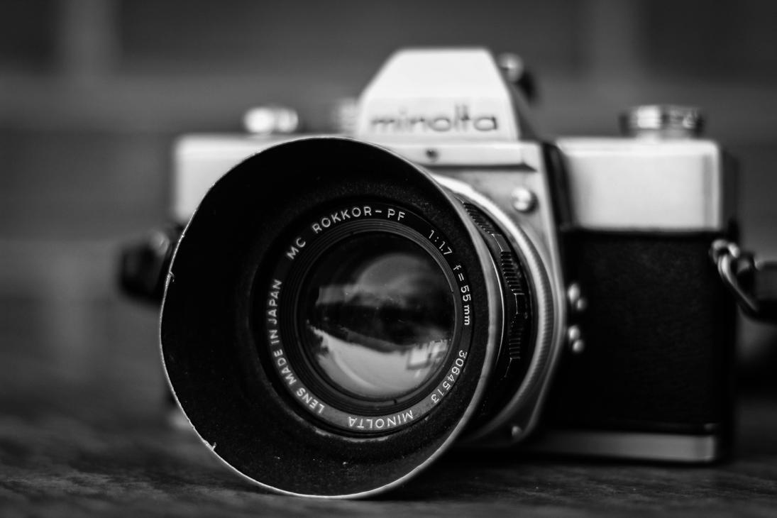 Old minolta camera by LukaStevens
