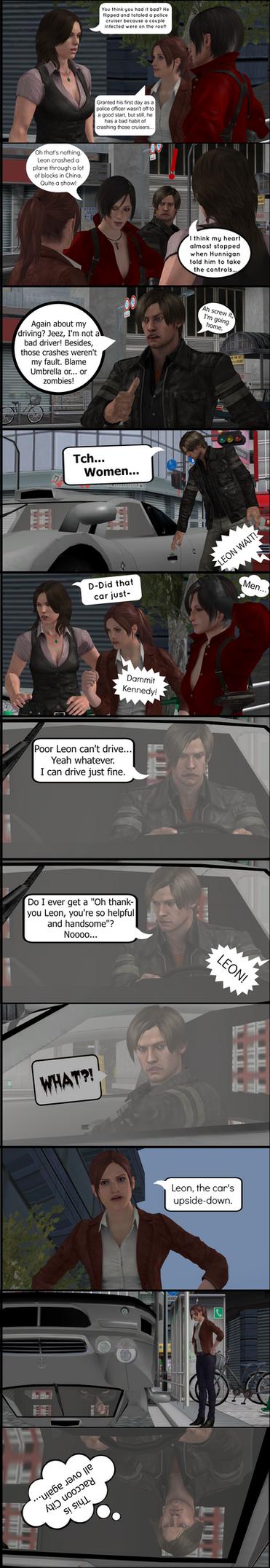 Oh Leon... by majormario