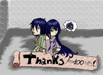 Thanks for 100 hits by SarunaN