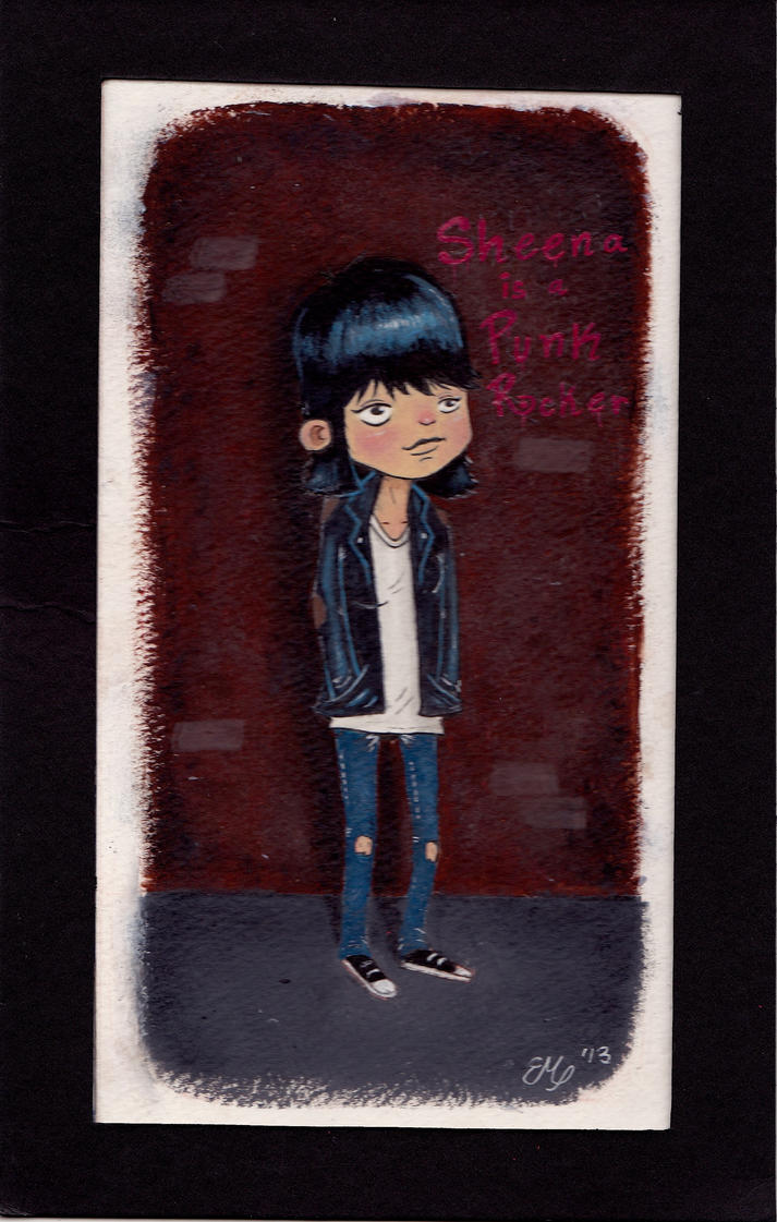 Sheena is a Punk Rocker by Erick-Martinez5