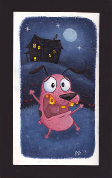 Courage the cowardly dog!!