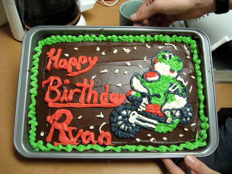 Cake Art Tucker : Yoshi Cake by LinzTucker88 on deviantART