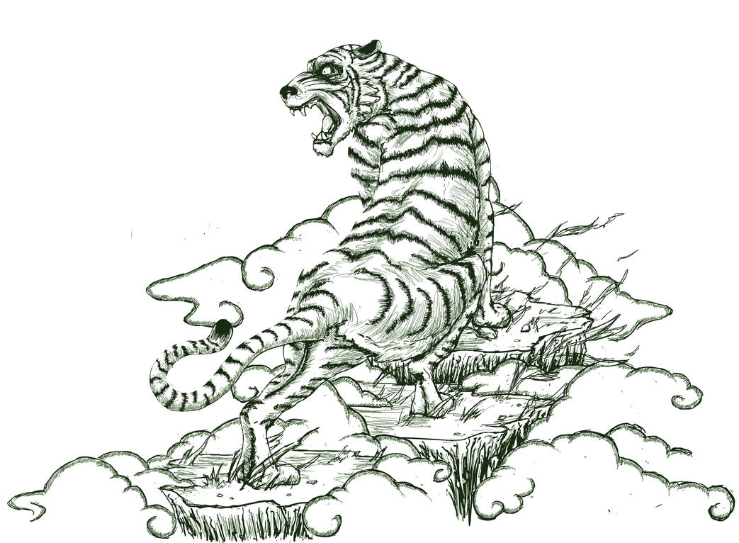 Tiger Tattoo Revised by