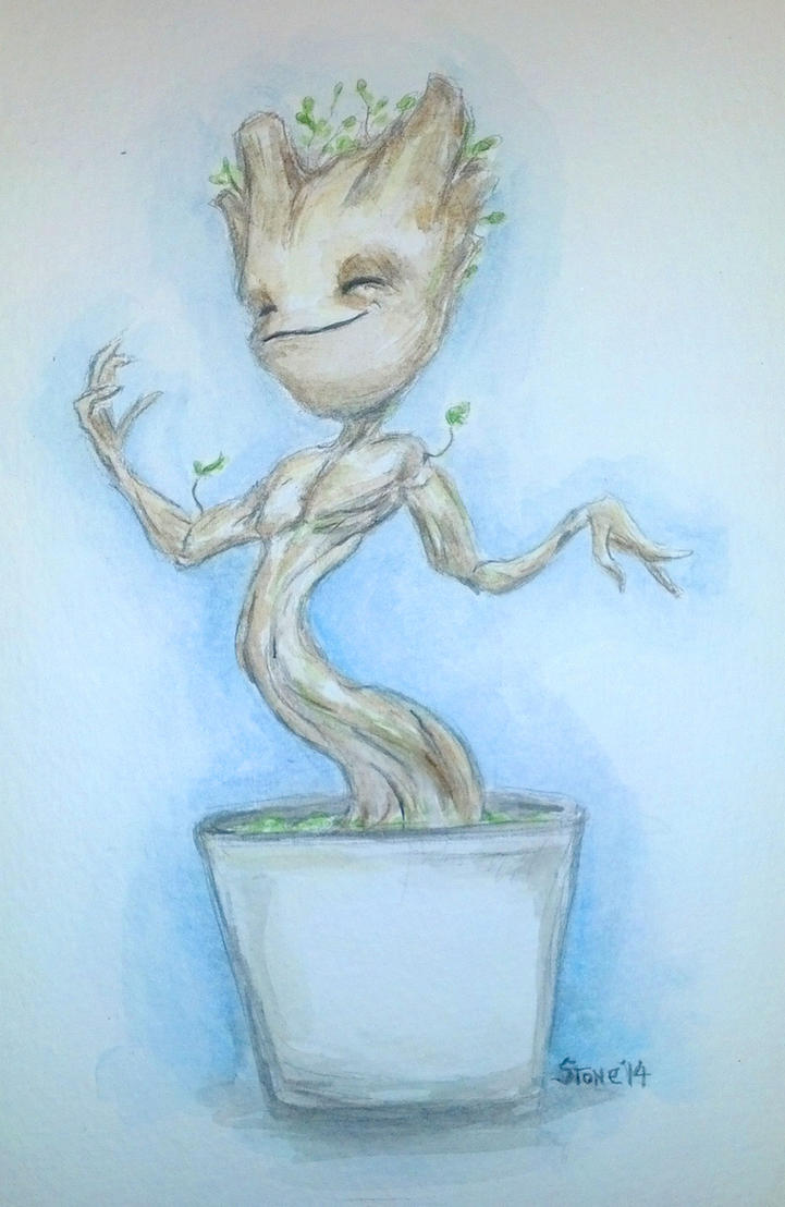 Baby Groot by jdstone