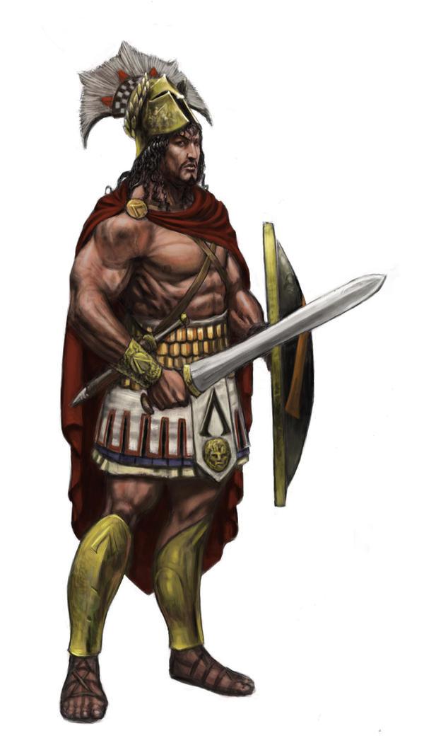 Spartan hero by Wiggers123