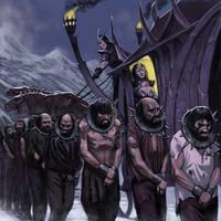 Warhammer Dark Elf Nobel by Wiggers123