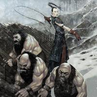 Warhammer Dwarf slaves by Wiggers123