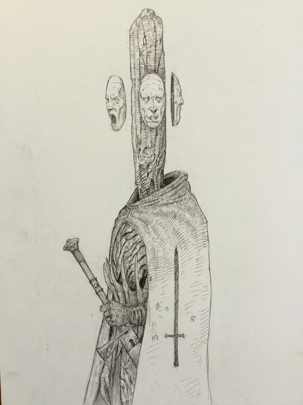 Older ink drawing!