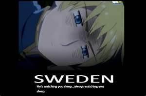 swedens watching always watching evil smile by liamda1