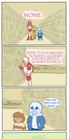 Shopping Trip [Undertale Comic] by RoseeQuartz