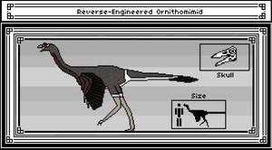 Reverse-Engineered Ornithomimid