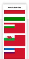 British Federation Flags