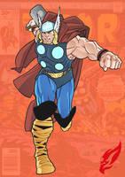 Thor, God Of Thunder by BongzBerry