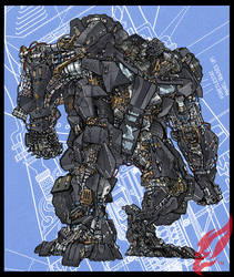 Transformer : TUMBLER  Ver. 02 by BongzBerry