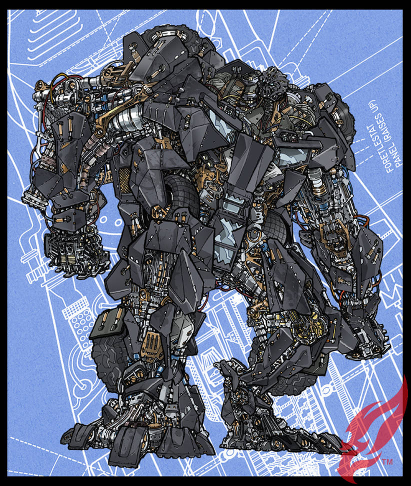 Transformer : TUMBLER  Ver. 02 by BongzBerry