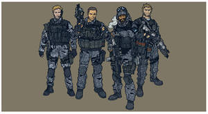 Tech-Com Soldiers