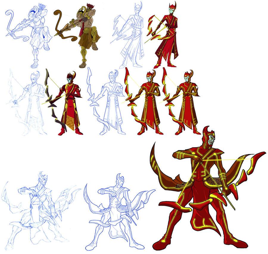Arjuna Anime Characters