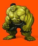Hulk Color Test