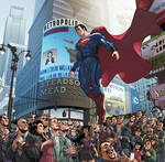Welcome To Metropolis, Man Of Steel