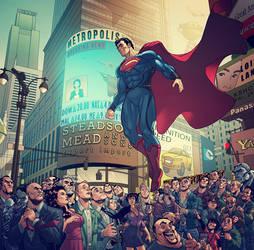 Welcome To Metropolis, Man Of Steel, REVISED.