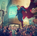 Welcome To Metropolis, Man Of Steel, REVISED.