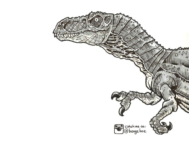 Juvenile T-Rex: Skip by BongzBerry
