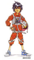 Hiro X-Wing Pilot by BongzBerry