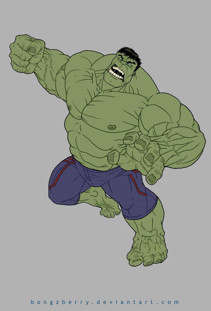 Hulk Smash ! by BongzBerry