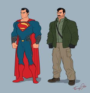 Kal-El and Agent August Walker
