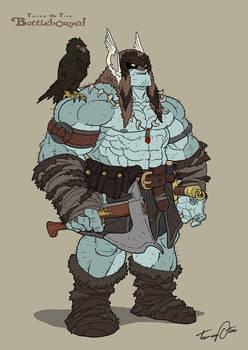 Mungo The Hurran Warrior - Battle Stance
