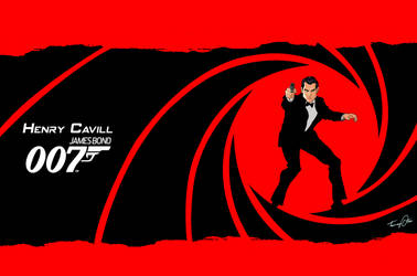 Cavill For Bond 007 by BongzBerry